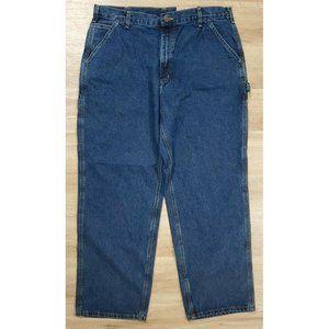 Carhartt Mens B13 Loose Original Fit Blue Jeans 38